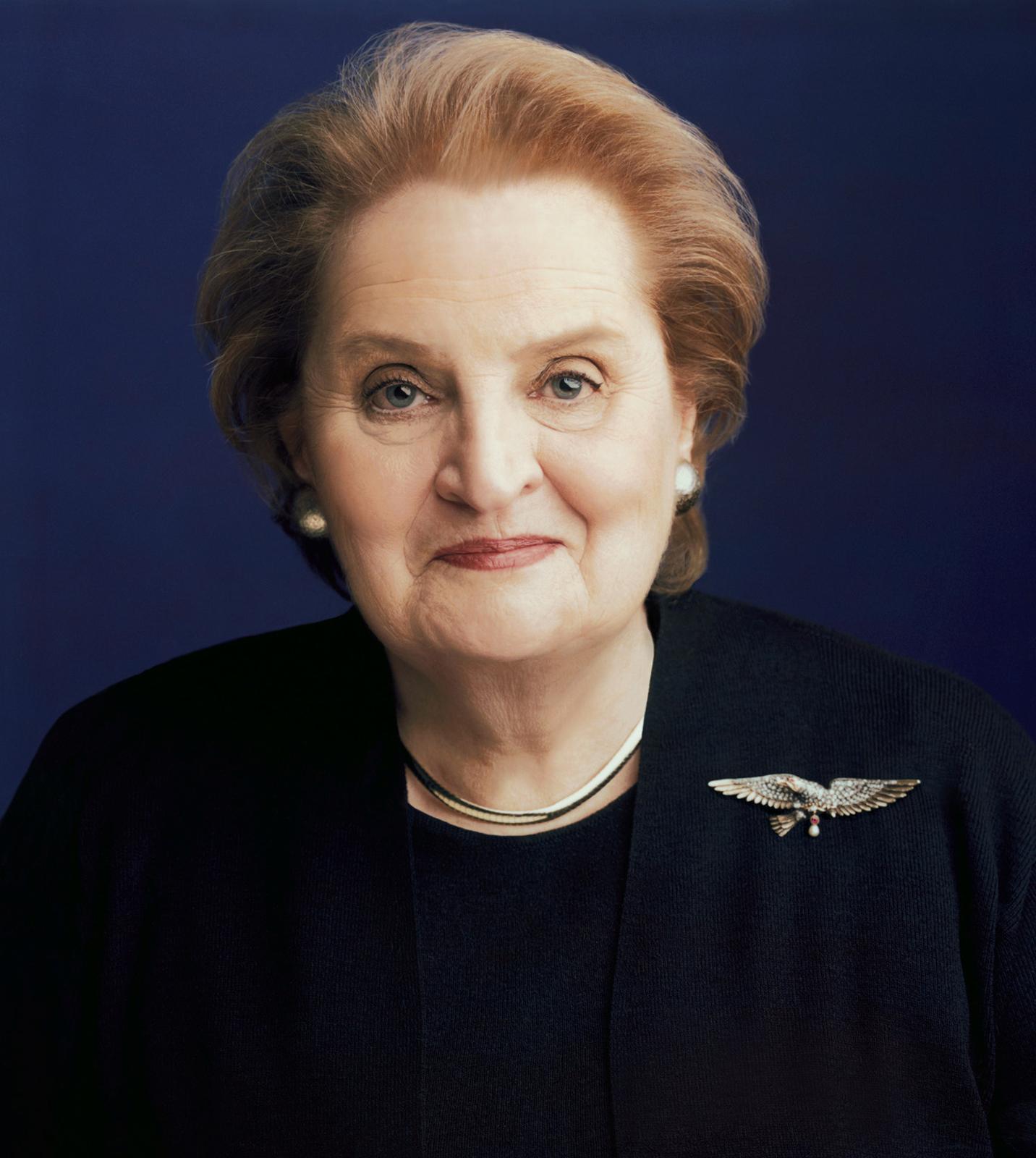 Madeleine-K-Albright