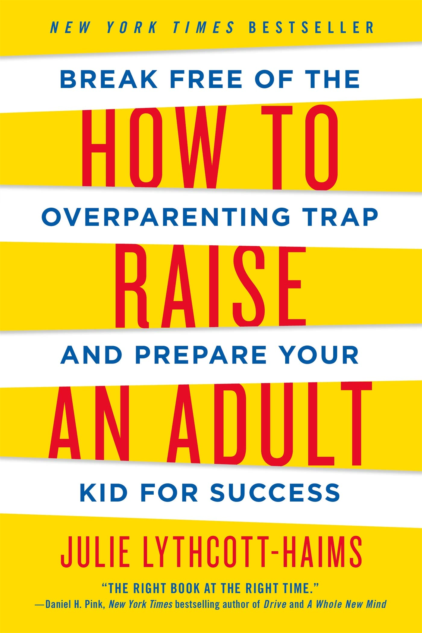 How to Raise an Adult book